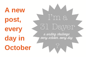 A new post, every day in October