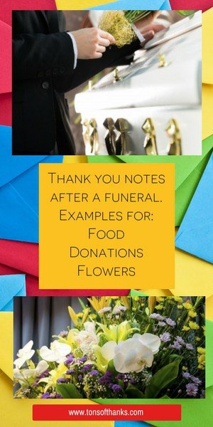 After funeral thank you note wording examples